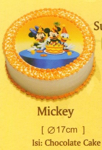 Holland Bakery Disney Sugar Printed Cake - Mickey