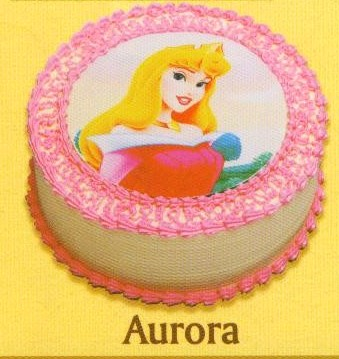 Holland Bakery Disney Sugar Printed Cake - Aurora